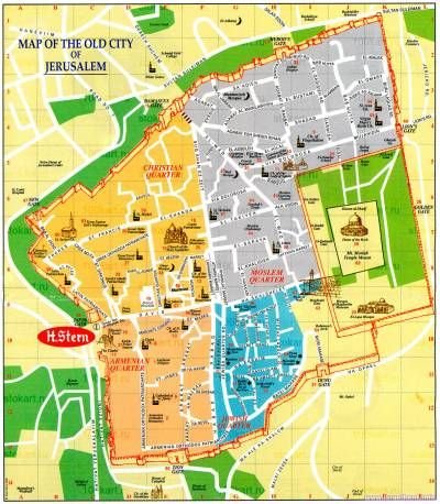 старый город Иерусалим